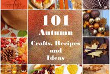 Autumnal Crafts / Things to make and do in Autumn