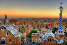Barcelona, Spain / by ✈ 100 places to visit before you die