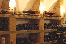 Basement wine