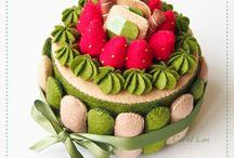 Felt cake n food