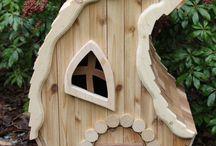 домики для эльфов и гномомов