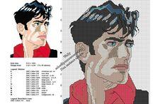 Schemi ricamo punto croce fumetti / Schemi ricamo punto croce fumetti, Dylan Dog, Tex e tanti altri