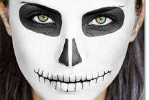 Skeleton face paint ideas
