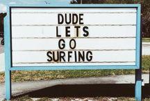 surf, chill