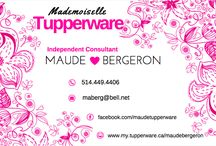 MAUDE'S TUPPERWARE <3 / All about tupperware, my current promos, my contact info, warranty info, catalogues, etc...  Don't be shy to contact me!