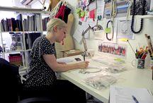 Work in Progress / Behind the scenes of Eleanor Bolton Studio