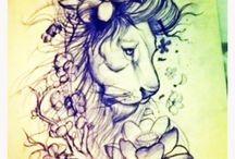 Tattoos - Lions