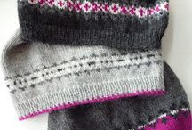 Knitting | Fair Isle / Fair isle knitting | stranded knitting | knitted with more colors | knitting pattern | tutorial | how to | colorwork