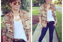 Southwest / Thrifted southwest jacket Victoria's Secret tank Gap jeans  DSW sandals Thrifted leopard belt
