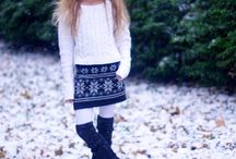 Cute girl's winter outfits