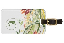 Luggage Tags / Unique Luggage Tags design to make your travel luggage more personal and exotic.