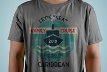 2018 Family Caribbean Cruise / Is your family getting ready to set sail to the Caribbean,during 2018? Great way to create excitement, identify your group, and remember the great times after the cruise. Are you ready for your 2018 Cruise Vacation?
