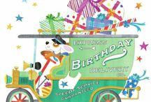 Happy birthday / Alles wat met een verjaardag te maken  kan hebben