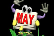 What's Happenin' in May? / On any given day of the year something is happenin' and being celebrated! What's Happenin'? in May keeps you updated on funny days, bizarre happenin's, weird holidays, foodie fun (recipes galore) and unique celebrations during the month of May. Some of the dates of 'holidays' designated as specific days of the week may change while others stay the same. However, the celebrations themselves remain constant providing choices on what to celebrate or not. Look back to plan ahead...  / by Sharla Shults