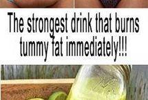 Lose tummy