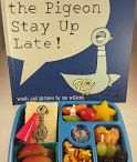 Lunches Inspired by Mo Willems' Books / Features lunches packed for kids that are inspired by books by Mo Willems.