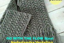 gehaakte shawl