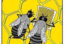 Bee Infographs / A collections of bee related facts, infographs and comics