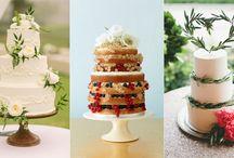 Wedding cakes / Deserts and wedding cakes.