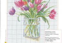 flower vase. cr,st