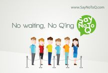 Say No To Q Now / A waitlist and queue management app. Redefining customer experience