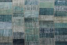 Vintage Overdyed Patchwork Carpets