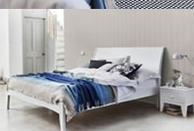 White Beds & Bedroom Furniture / With the Summer season beginning we're ready to create a clean, fresh and calming bedroom environment with beautiful white furniture.