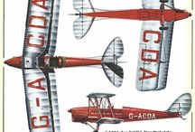 De Havilland Canada first aircrafts and others / Attention, Pinterest starts to censor....