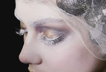 Sculpture inspired make-up