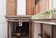 construções modernas e contemporâneas