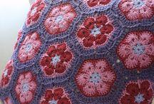 Crochet cushions / crochet ideas and inspiration