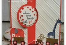 Stampin' Up! - Kids cards