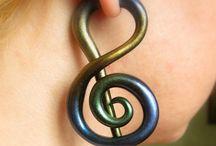 JOIAS: Brincos Fake (earrings fake)