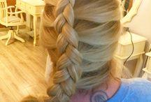 Blondplaits / Hair styles