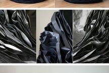 VADIM KIBARDIN - Black paper armchair