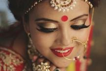 Indian bridal makeup portraits