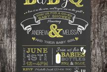 Baby shower ideas / by Audrey Smothers-Strange