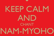 NAN MYOHO RENGUE KYO (Buddhism) / Buddhism Nichiren Daishonin