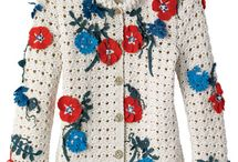 Chanel crochet cardigan