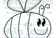 Mis diseños: DIGIS || My designs: Digi Stamps
