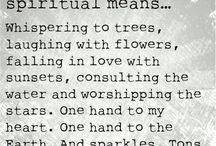spiritual stuff