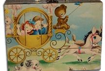 Sweet Vintage Cases/Little Girl's Purses / by Kelley Knott