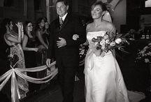 here comes the bride / Entradas de novias hacia el altar