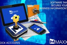 Lock Accounts / Lock Accounts:  Lock Account is used to stop the accounting entries. MAXX enables its user to stop the add/edit/delete of Receipts/Payments, Post Dated Cheques, Cheque Return, Bank Reconciliation entries, etc... http://maxxerp.blogspot.in/2013/10/maxx-software-that-secures-your.html