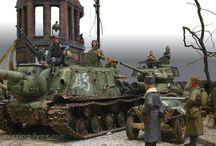 Diorama - Tank