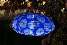 Unique Hanging Solar Lanterns / by Battery Operated Candles