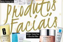 Melhores produtos para o rosto