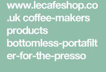 Kava a baristicke pomocky