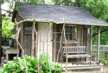 Redskapsbod hytte