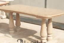 Tavoli e piani / Tavoli e piani in marmo realizzati